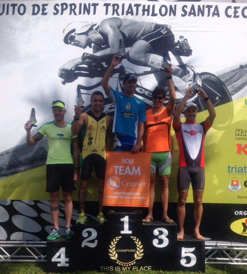 Triathlon Santa Cecília - Guarujá - 2015